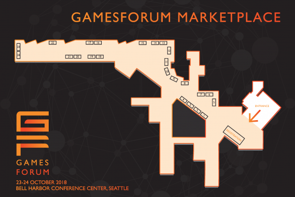 Gamesforum Seattle 2018 Floor Plan